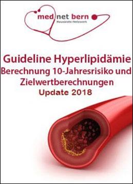 Guideline Hyperlipidämie  Berechnung 10 - Jahresrisiko und Zielwertberechnungen