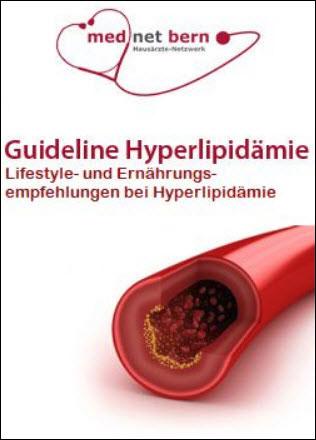 Guideline Hyperlipidämie Lifestyle - und Ernährungs - empfehlungen bei Hyperlipidämie